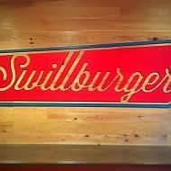 Swillburger Signage