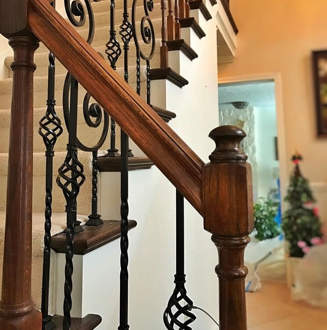 Residential decorative railings