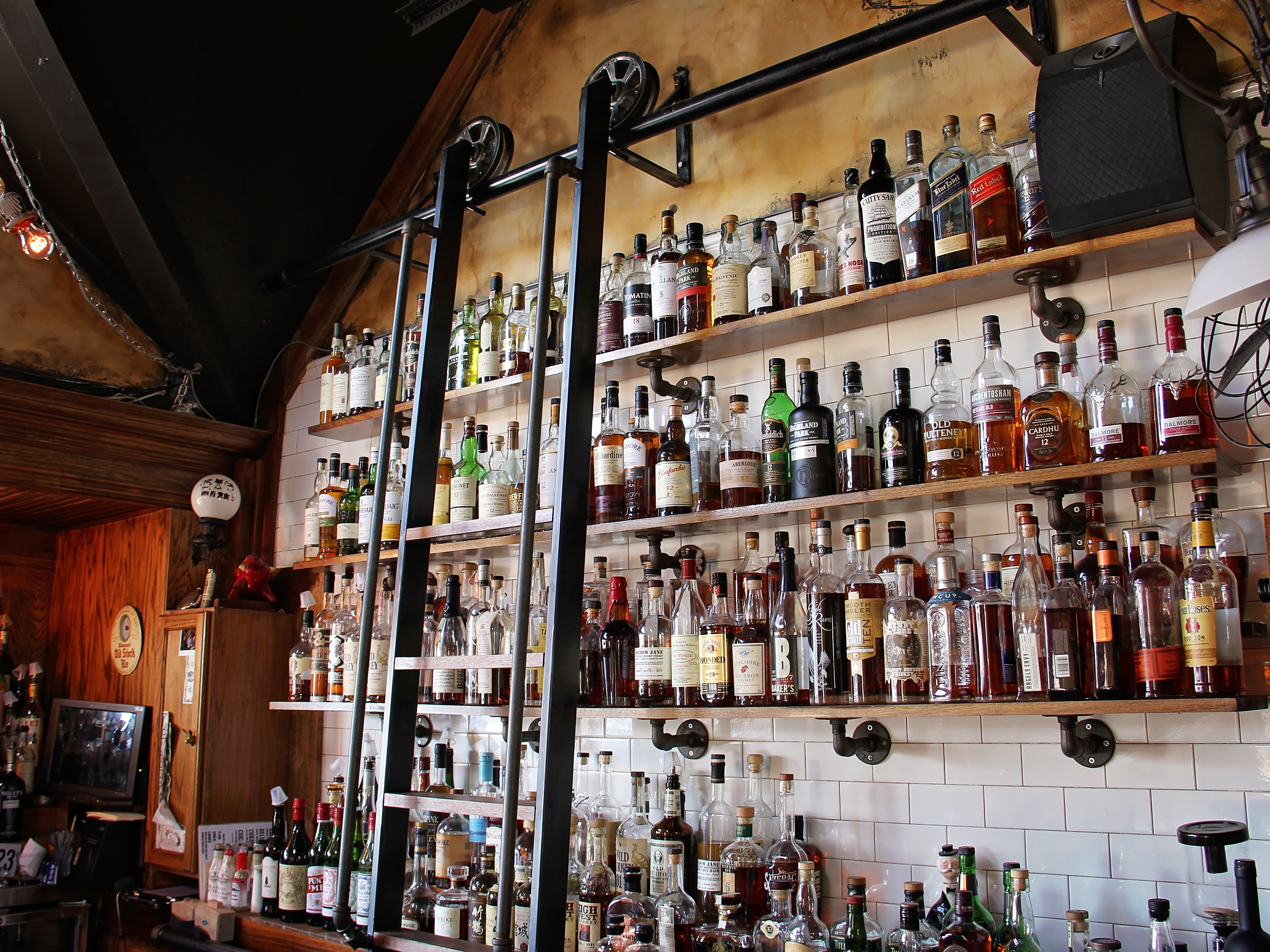 The Daily Refresher Whiskey Ladder