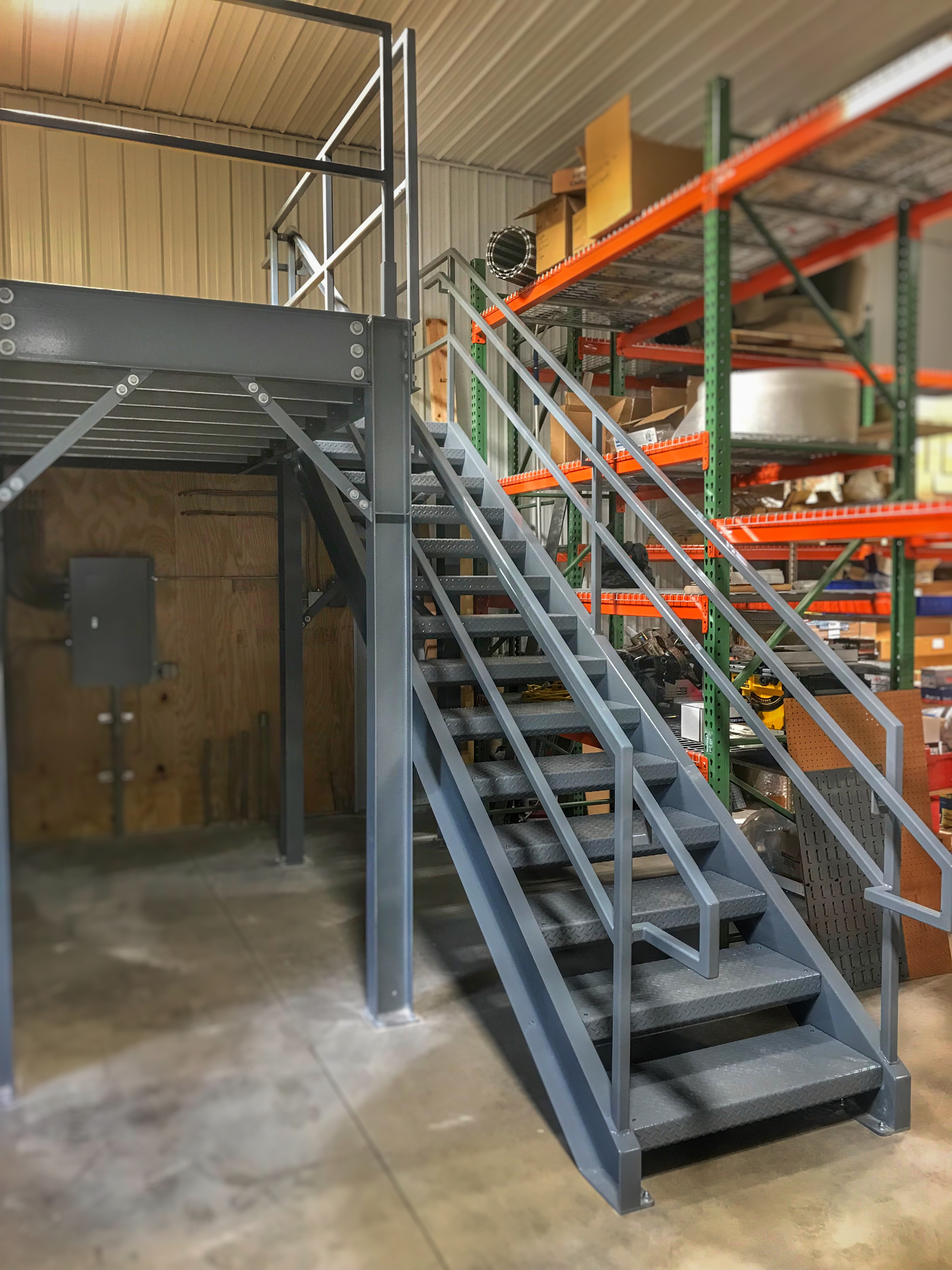Industrial Stairs and landing