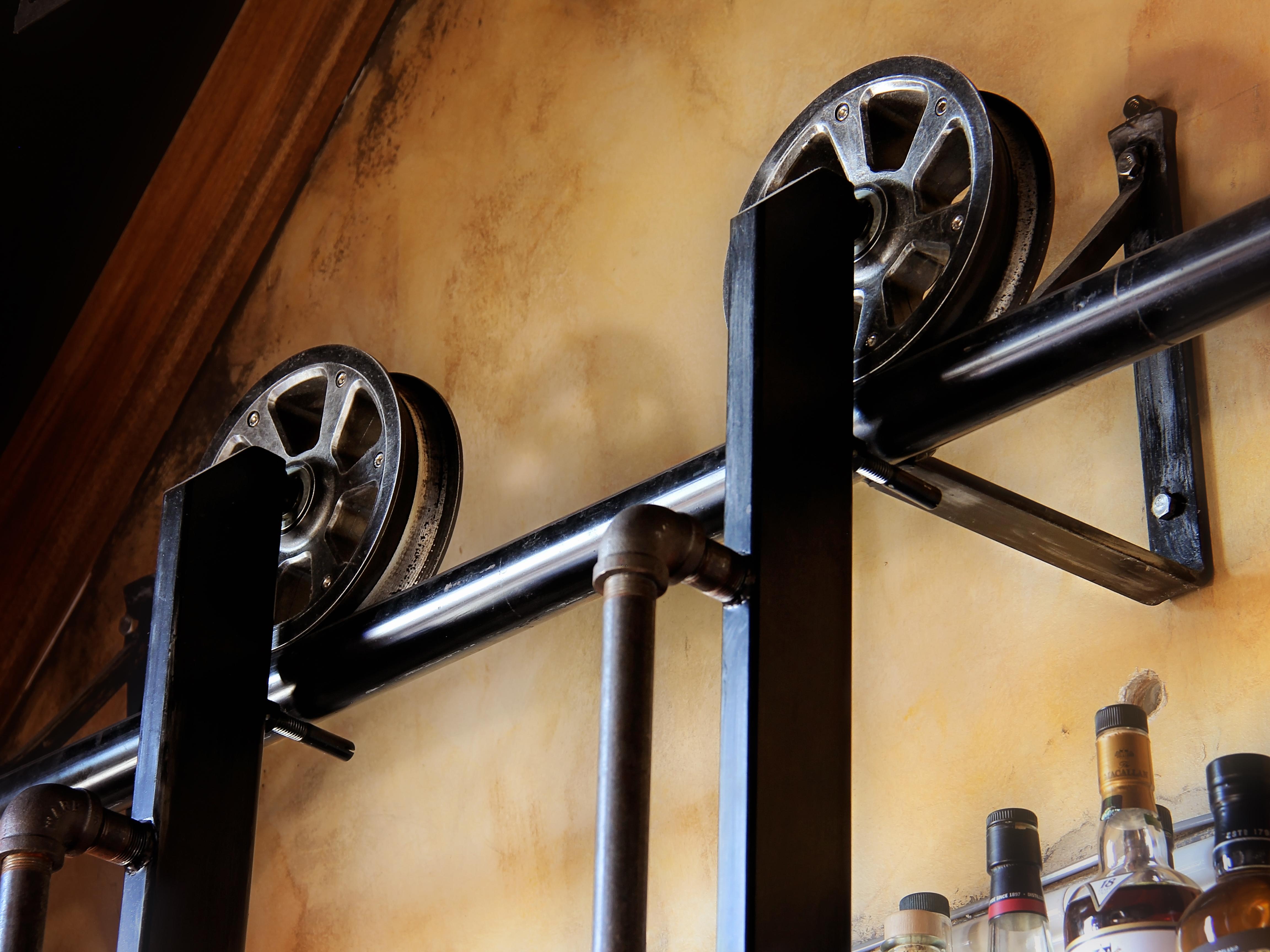 Whiskey Ladder Wheels